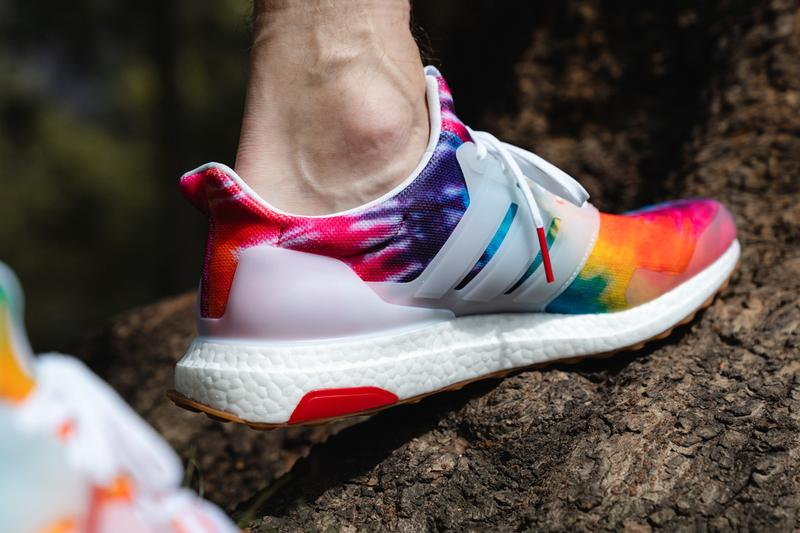 nice kicks adidas ultraboost tie dye woodstock 50th fifty anniversary ef7775 closer look on feet sneakers shoes colorway release date info