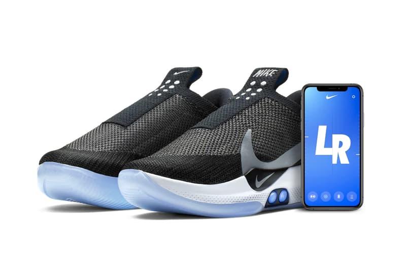 Nike Is Restocking Its Auto Lacing Adapt BB hyperadapt basketball shoe sneaker tech smartphone connectivity footwear sneakers kicks