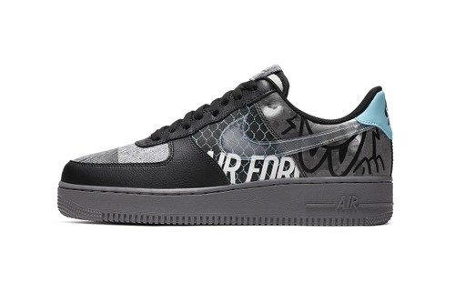 Nike Scrawls On Its Air Force 1 '07 Premium With Artful Face Doodles