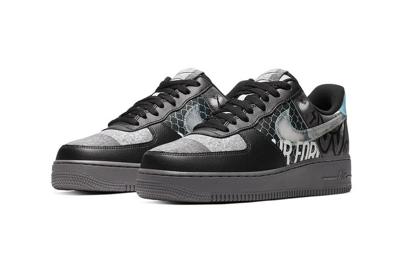 """Nike Air Force 1 '07 Premium """"Off Noir/Pure Platinum"""" sneaker where to buy price release 2019"""