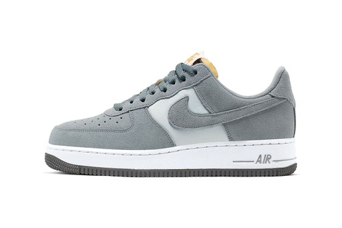 "Nike Gives the Air Force 1 a Suede ""Cool Grey"" Revamp"