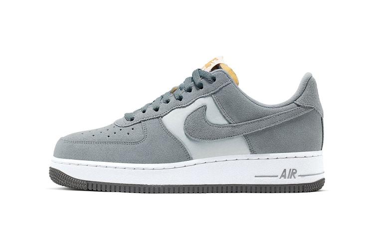 prix compétitif 3c9b9 a23f3 Nike Air Force 1 White/Metallic Gold-Black-Vast Grey | HYPEBEAST