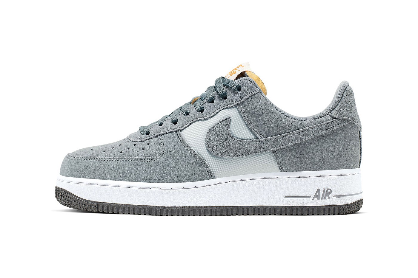 grey suede air force 1 high top