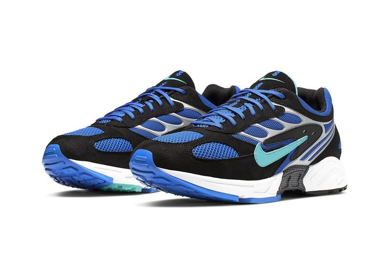 Nike Air Ghost Racer Racer Blue Release Info hyper jade wolf grey black retro sneakers shoes runners