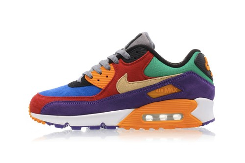 "Nike Revives the OG ""Viotech"" Color Blocking on the Air Max 90"