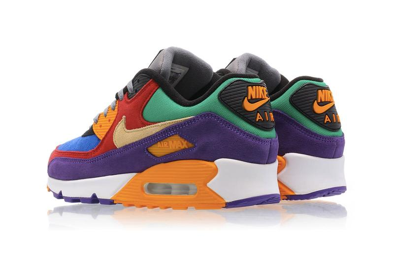 Nike Air Max 90 Vioetch OG Color Blocking Release Info CD0917-600