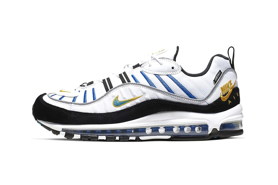 Nike Air Max 98 Premium White Teal Nebula Info Hypebeast Drops
