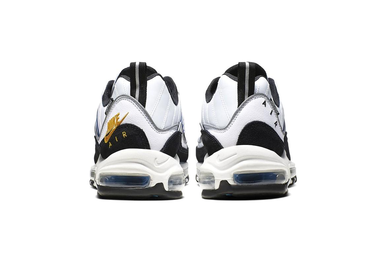 Nike Air Max 98 Premium White Teal Nebula Hypebeast