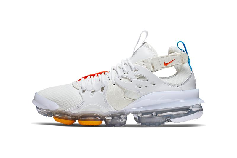 Nike D/MS/X Vapormax White/Blue/Orange/Yellow colorway release date info buy