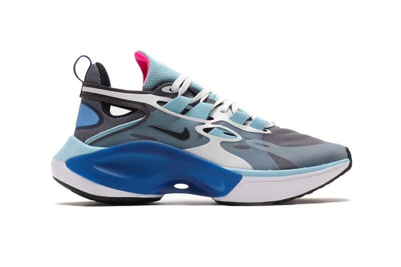 Nike DMSX Signal Pack black white football grey pale vanilla ocean cube summit white red orbit blue hero sneaker footwear cars bikes rebuilding reconstructed
