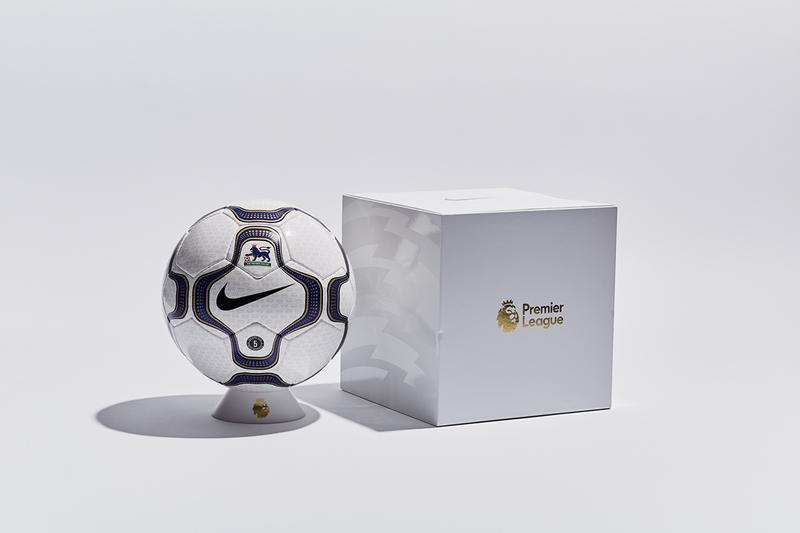 Nike Geo Merlin Football Ball Soccer Release 600 Units Information Drop Premier League Player Limited Edition Global 20 Years Old Debut 2000 2001 Season Dynamic Support Structure
