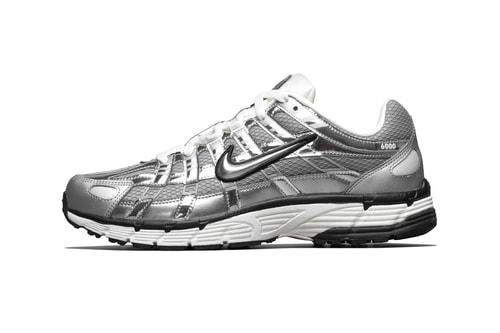 "Nike's P-6000 Gleams With ""Metallic Silver"" Finish"