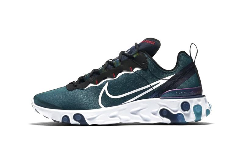 "Nike React Element 55 ""Magpie"" Pack Release Sneaker Drop Information China Chinese Zones Exclusive Mens Womens Footwear Tanabata Evening of the Seventh Festival Traditional Iridescence Colorway"