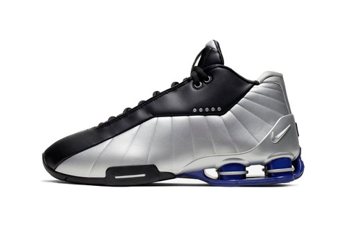 Nike's Shox BB4 Gets a Metallic Silver Finish