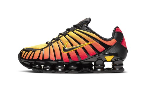 Nike's Shox TL Is Doused in Warm Sunrise Gradients