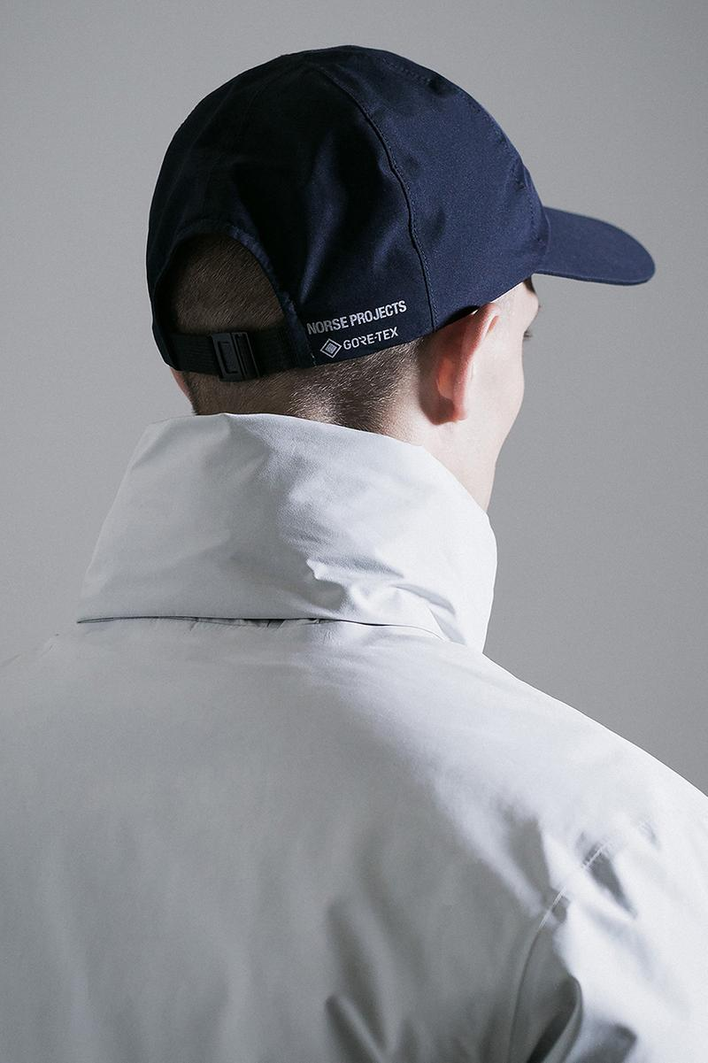 norse store projects gore tex fall winter 2019 lookbook coats jackets bucket hat sports cap release information details buy cop purchase