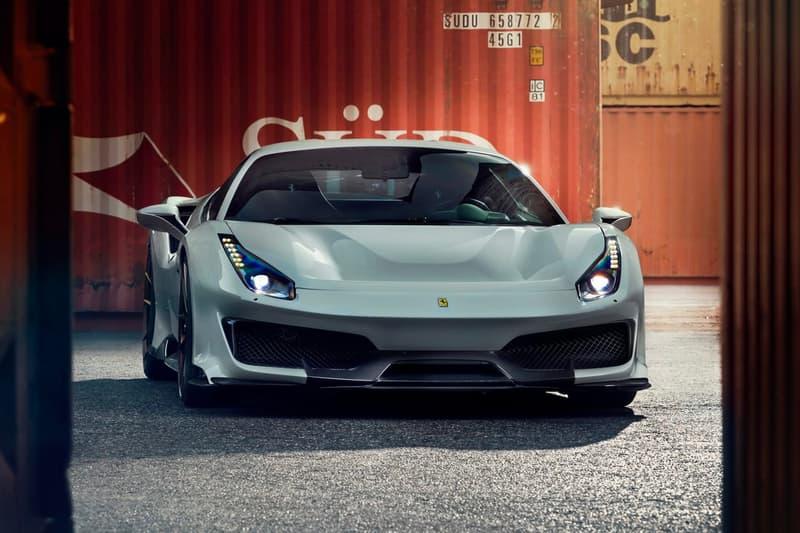 Novitec Ferrari 488 Pista Sports Package Release custom cars motorsports modification prancing horse upgrade