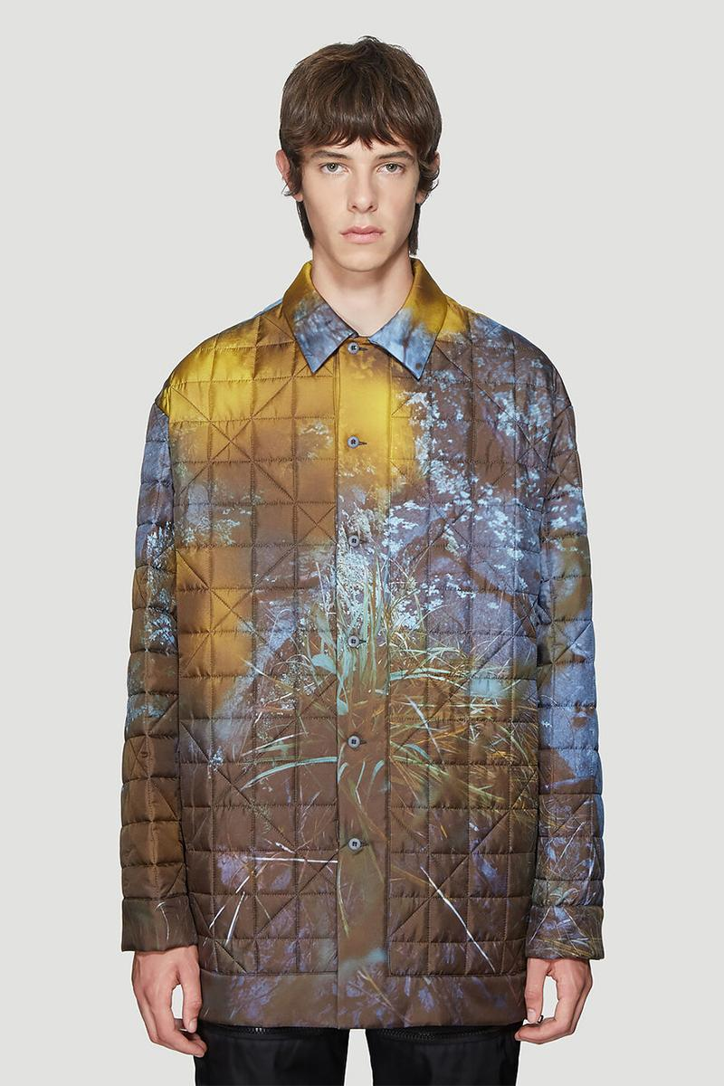 OAMC Polly Shirt Jacket Release LN-CC jackets outerwear Silk