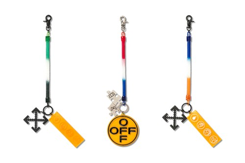Off-White™ Focuses on Functionality With Its Industrial Y013 Bungee Keyrings
