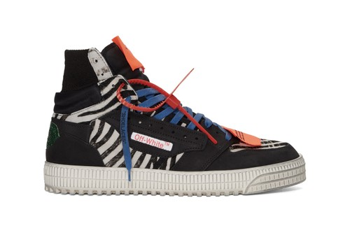 Off-White™ Drops a Trio of Highly Detailed Off-Court 3.0 Sneakers