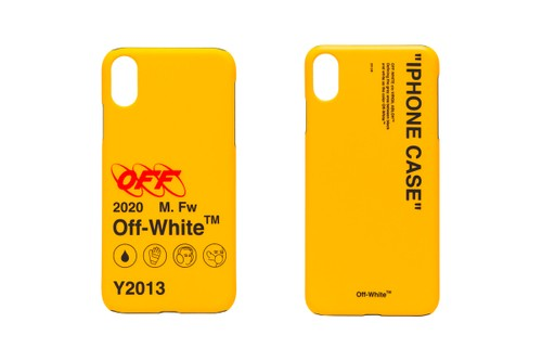 Off-White™'s Latest Set of Phone Cases Channel the Hard Hat
