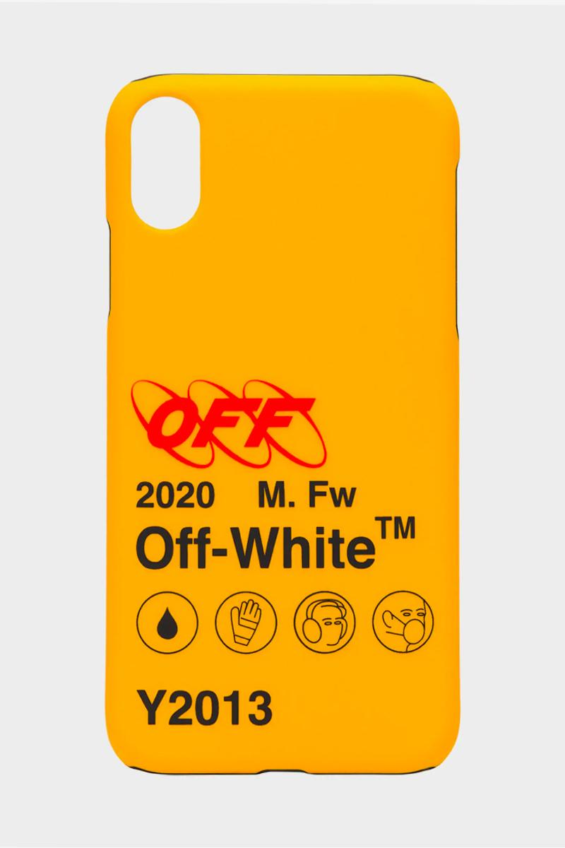 Off-White Yellow Quote Industries iPhone Case Release