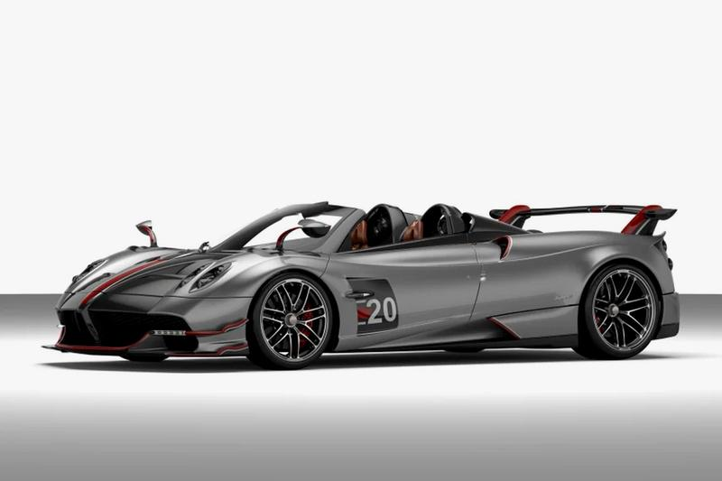 Pagani Huayra Roadster BC Hypercar Release Info 3 5 million USD limited edition 40 racing racer speed driving
