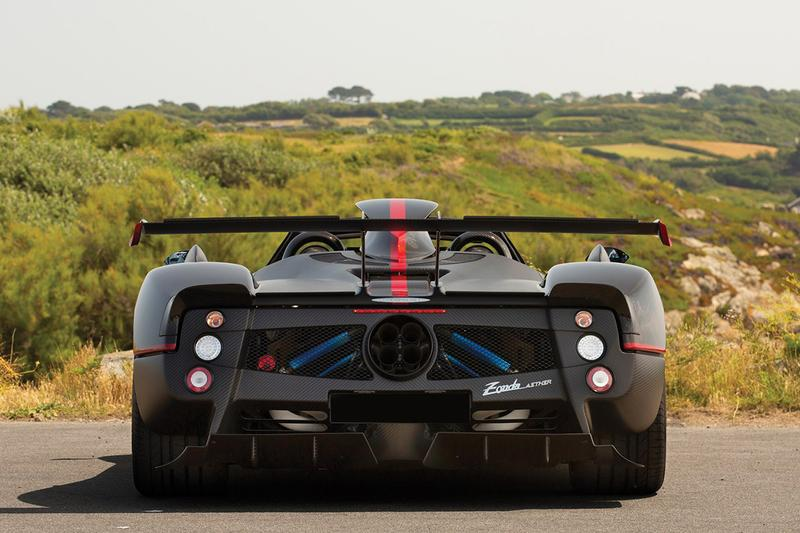 5 5m Usd One Of One Pagani Zonda Aether For Sale Hypebeast