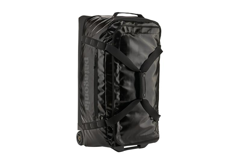 Patagonia Recycled 10 Million Plastic Bottles for Black Hole Bag Line climate change plastic waste pollution backpack