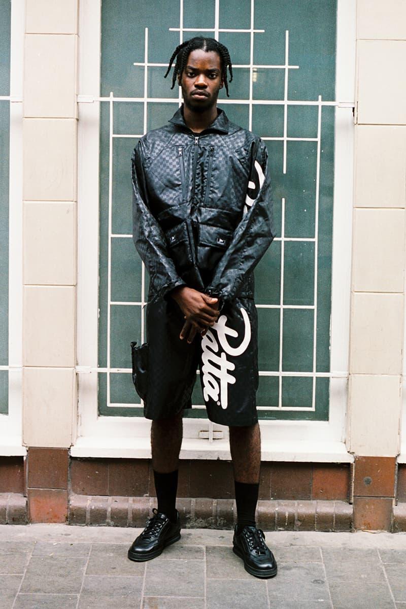 alch patta fall winter 2019 fw19 mini swoosh alexandra hackett deconstructed upcycled recycled shopping back shopper foldable windbreaker shorts