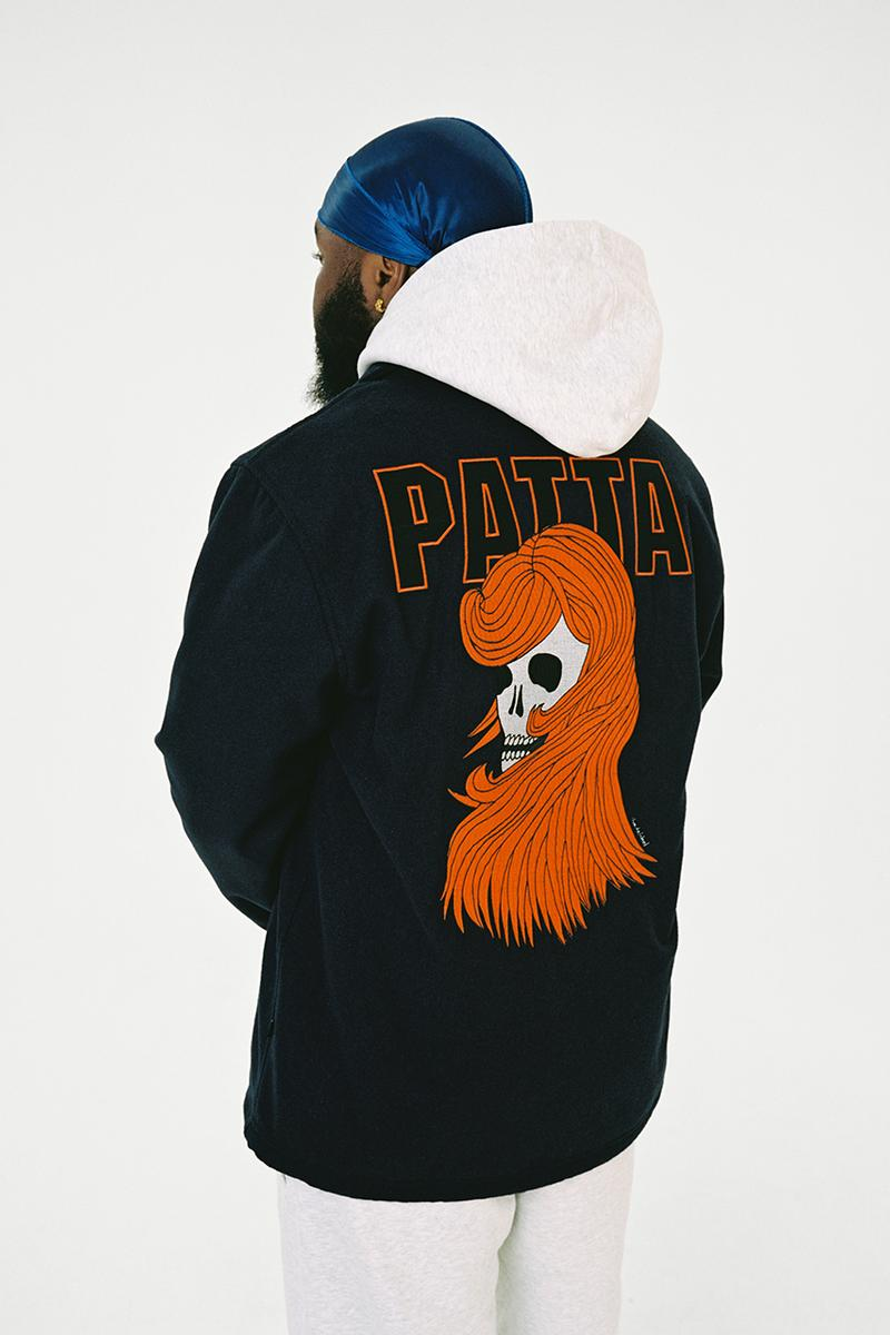patta fall winter 2019 collection lookbook menno kok release information basics tactical amsterdam skate streetwear collaborations buy cop purchase order
