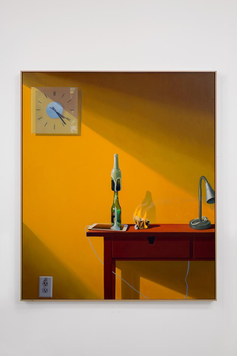 paul rouphail at home exhibition stems gallery paintings artworks interiors still lifes