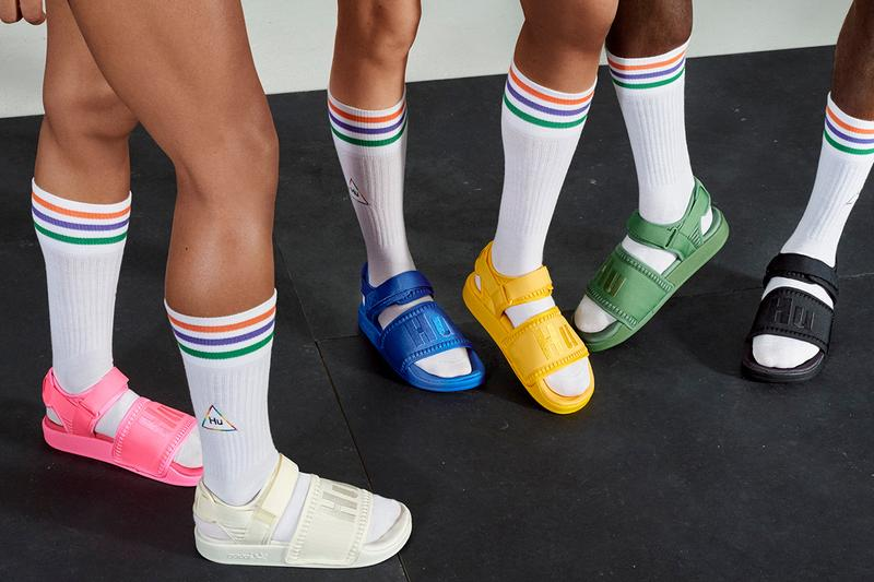 adidas originals pharrell williams collier schorr now is her time syd sneakers footwear apparel release information solar hu glide byw nmd adilette first look release information buy cop purchase reggie yates