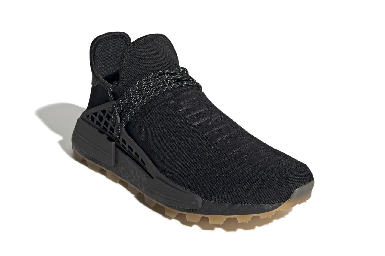 black adidas pharrell williams