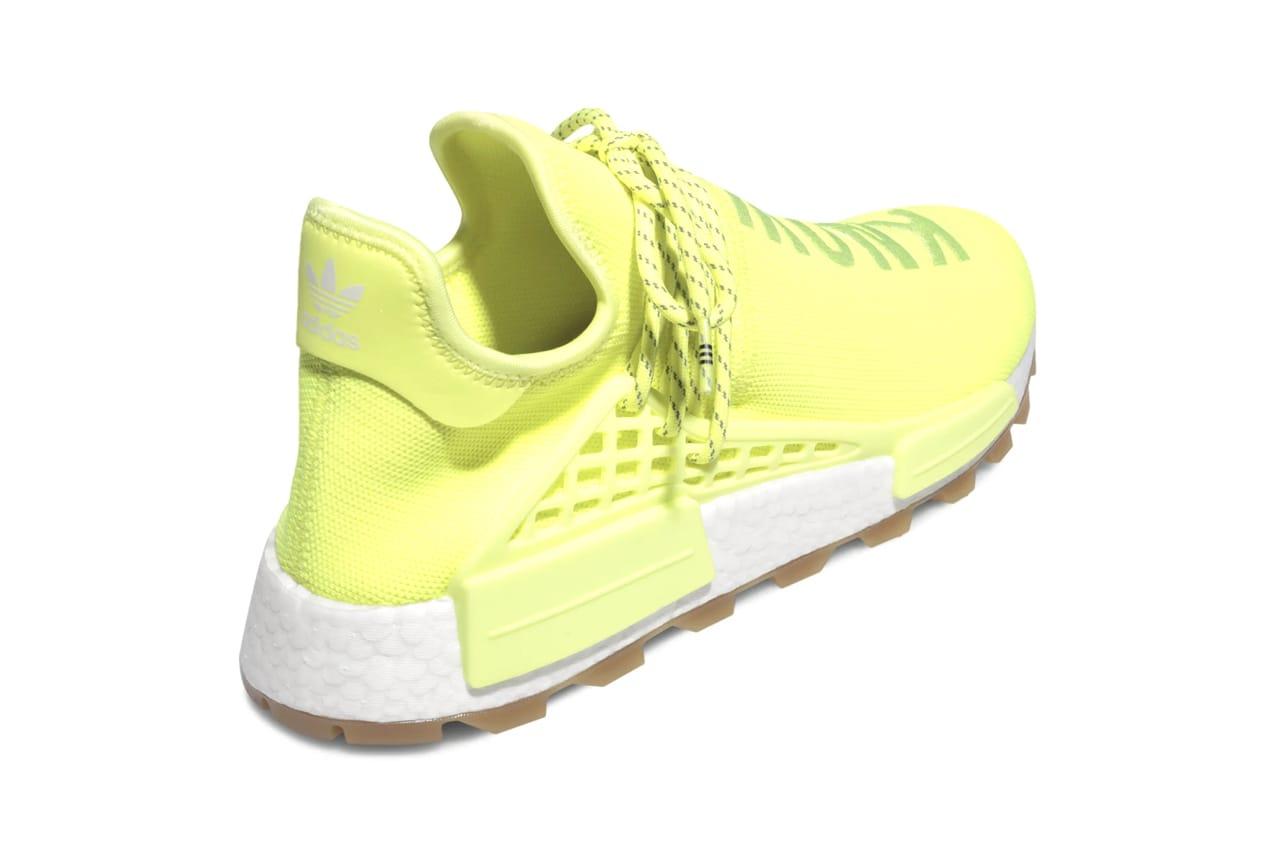 human race neon yellow