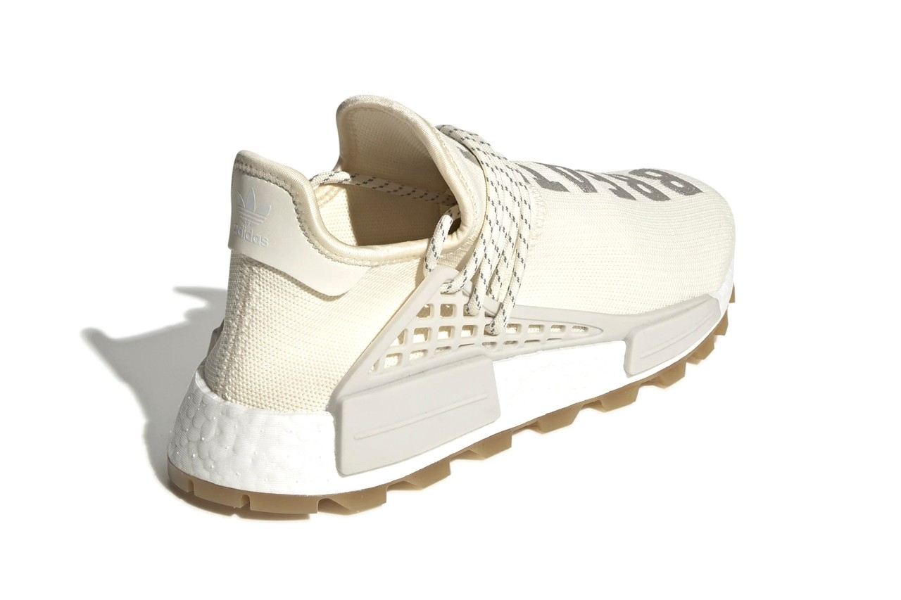 adidas human race cream white