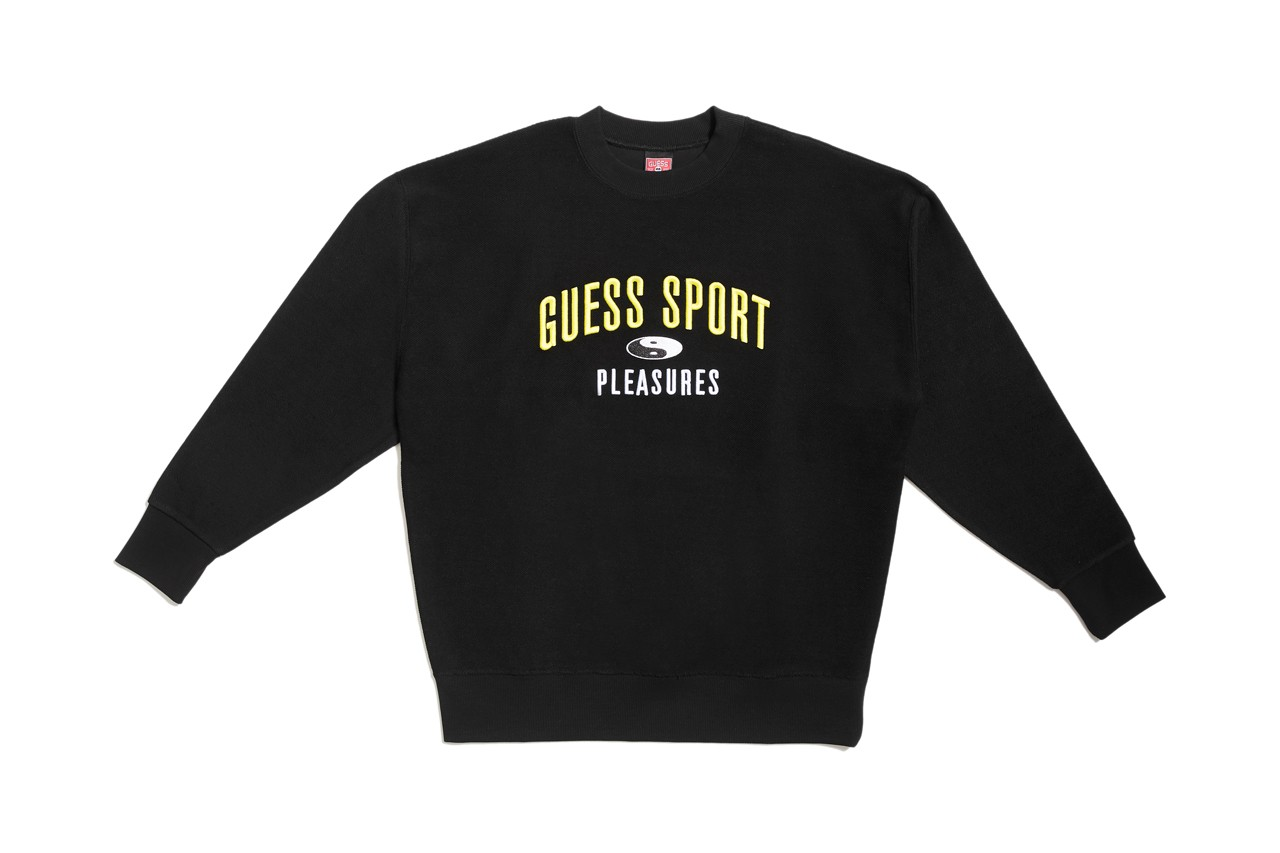 PLEASURES x GUESS Sport collection DTLA lot 5 guess jeans usa 90s racing inspired