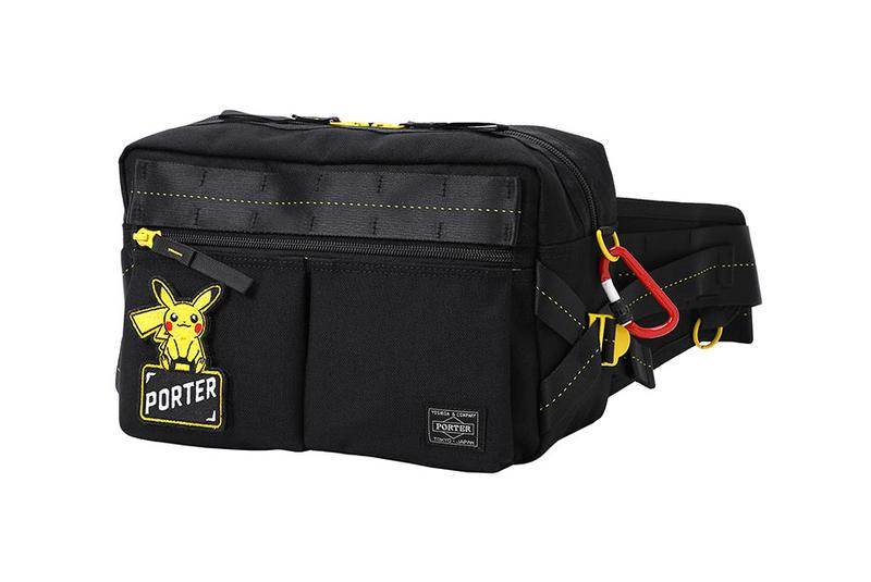 'Pokémon' x PORTER Pikachu Bag Collaboration collection release date info buy august 10 2019 drop