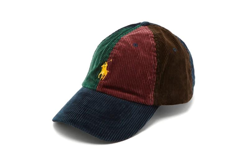 buy online 7ddbb 76ef2 Polo Ralph Lauren Logo-Embroidered Corduroy Baseball Cap ...
