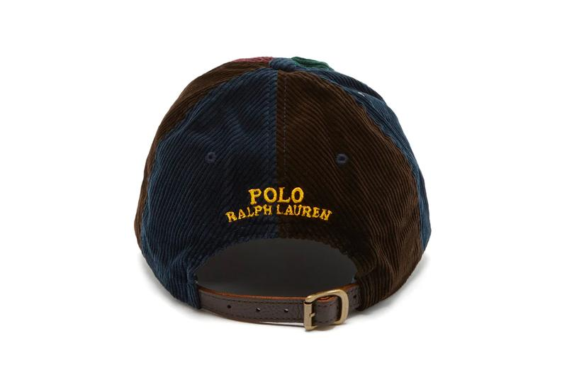 Polo Ralph Lauren Logo Embroidered Corduroy Baseball Cap Release matchesfashion