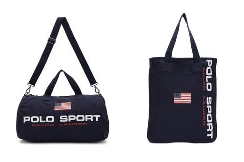 Polo Ralph Lauren Recreates Retro '90s Polo Sport Bags & Accessories