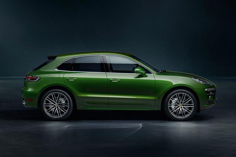 Porsche Macan Turbo 2020 New SUV Updates Mechanical Physical Body Kit 435 HP 0-622 MPH 4.3 Seconds Speed Statistics 2.9-liter twin-turbocharged V6 First Look Automotive News