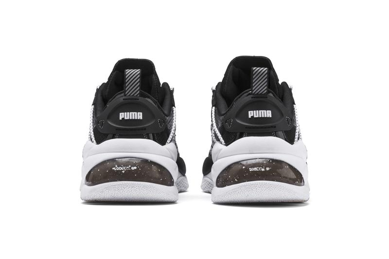 PUMA LQD Cell Omega Density Sneakers Black& White Release