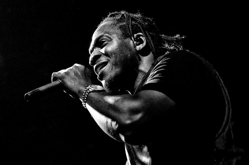 Pusha T Unreleased Verse Rick Ross Maybach Music VI 4 Lil Wayne Drake song stage microphone mic concert performance