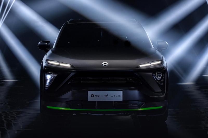 Razer x Nio ES6 Night Explorer SUV Launch cars EV Tesla Gaming Electric Vehicle cars neon mouse FPS LOL RTS eSports