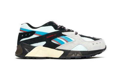 mita sneakers & BAL Add Blue & Red Detailing to Reebok Aztrek