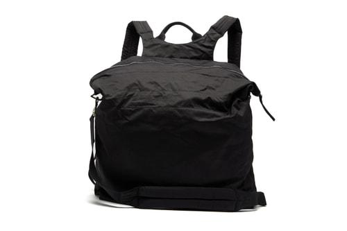 Rick Owens DRKSHDW Drops Cocoon-Like Oversized Nylon Backpack