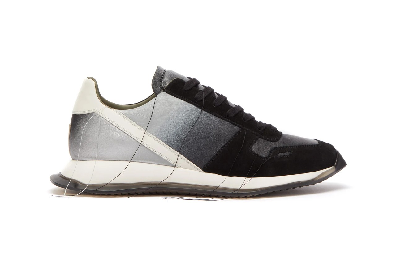 Rick Owens Vintage Leather Trainers