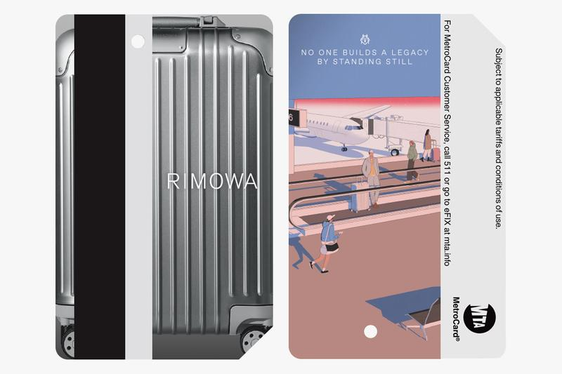 RIMOWA MTA MetroCard Never Still Campaign Luggage Plane Yellow Blue Red Green Pink Purple