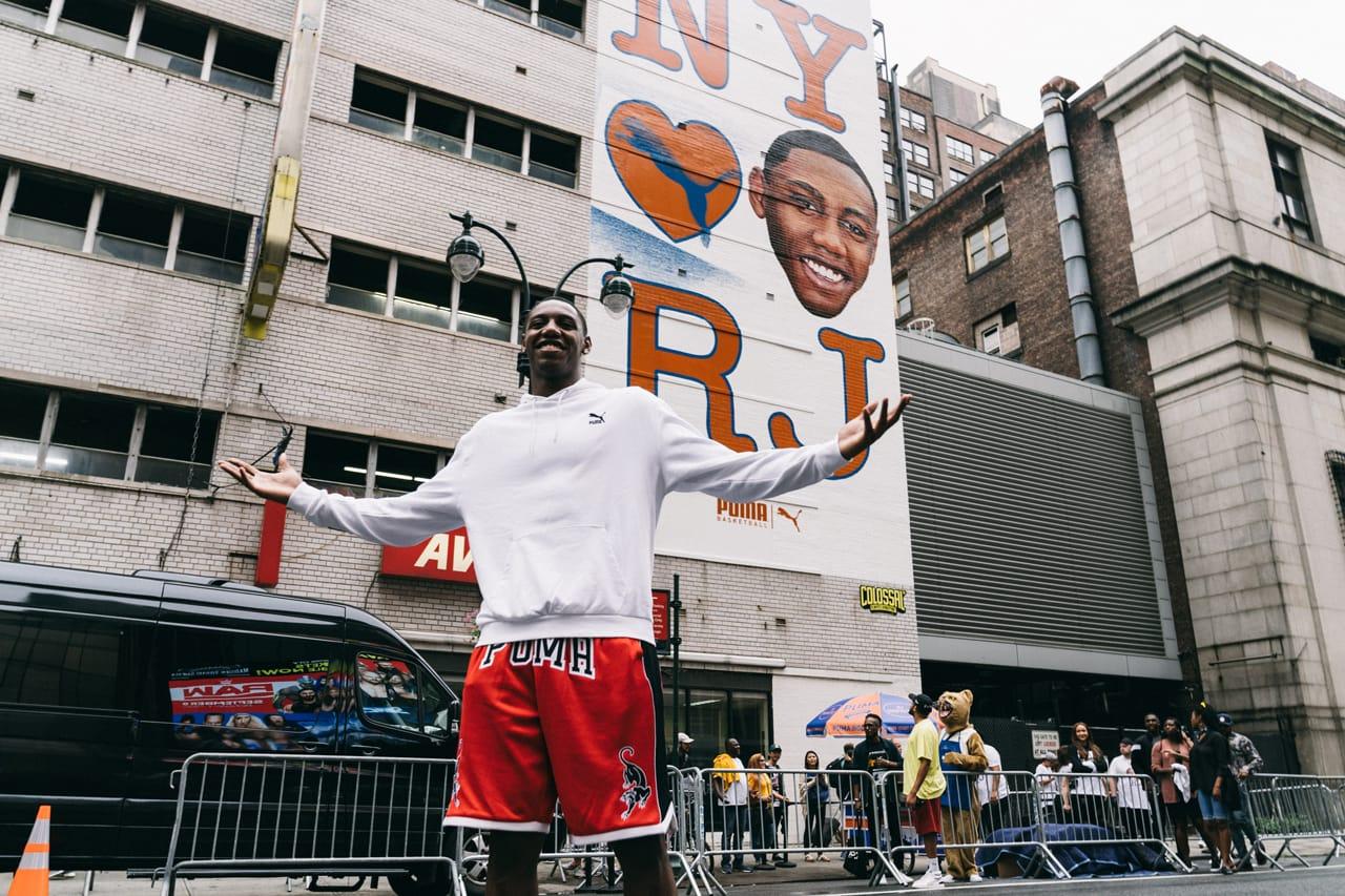 RJ Barrett x PUMA Basketball Shoe Deal